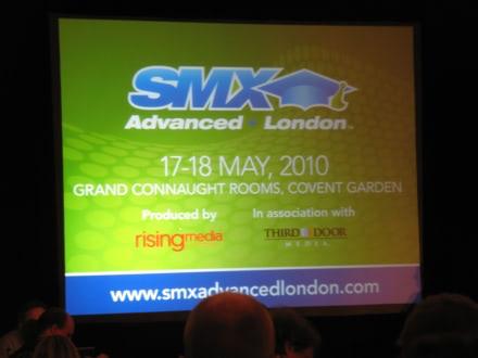 SMX Advanced London 2010