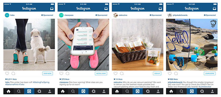 Instagram-mainokset