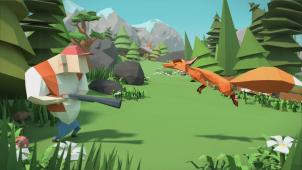 Yksi Crashing Season -mobiilipelin sankareista on kettu, joka antaa kovan vastuksen sitä jahtaaville metsästäjille.