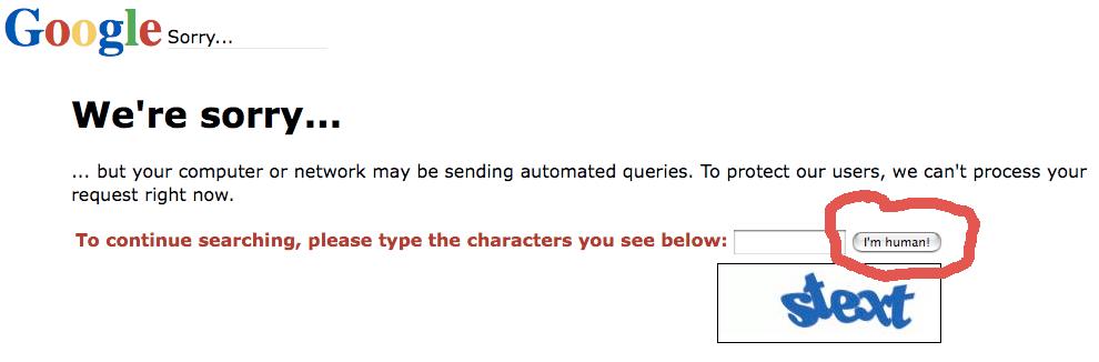 Googlen hakurobotin terveiset